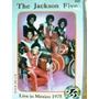 Dvd The Jackson Five Live In Mexico 1975 Frete Gratis