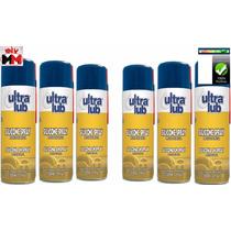 Silicone Spray Ultra Lub 350ml - 6 Peças