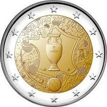 Moeda Comemorativa Da França 2 Euros Eurocopa 2016 Fc