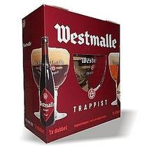 Kit Cerveja Belga Westmalle Trappist 2und 1 Taça