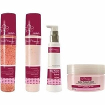 Left Hair Care - Fruit Therapy N/romã Sham+cond+más+leave-in