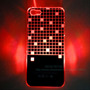 Capa Para Iphone 5 Led Quadrado Disco