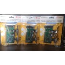 Placa Pci Serial Paralela Multiserial 2 Rs232 1 Db25 Slim