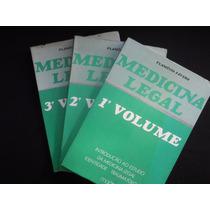 Flamínio Fávero - Medicina Legal - 3 Volumes