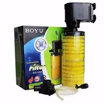 Filtro Submerso Com Bomba Boyu Sp-1000ii Filtro Interno