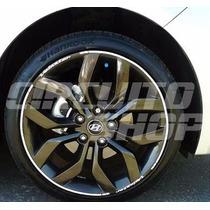 Friso Personalizado Roda Carro Gm Chevrolet Fiat Ford Vw Kia