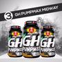 Kit C/ 3 Gh Pumpmax (100 Tabletes - Cada Pote) - Midway