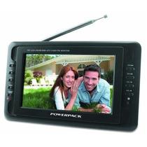 Tela Monitor Lcd Com Tv Digital E Analógica 7 Polegadas Nova