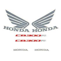 Kit Adesivos Honda Cb-300r 2012 Azul