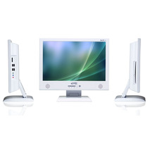 All In One Leadertech Core 2 Duo T7250, 2gb ,hd 500 .tela 17