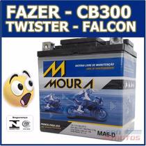 Bateria Moto Twister Fazer Falcon Hornet Ytx7 Htz7 Cb300