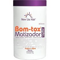 Botox Matizador New Liss Hair 1kg Profissional Platinado