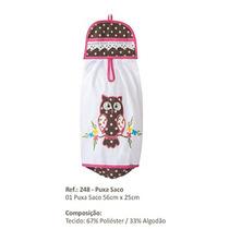 Puxa Saco (porta Sacolas Plasticas) Desenho Coruja