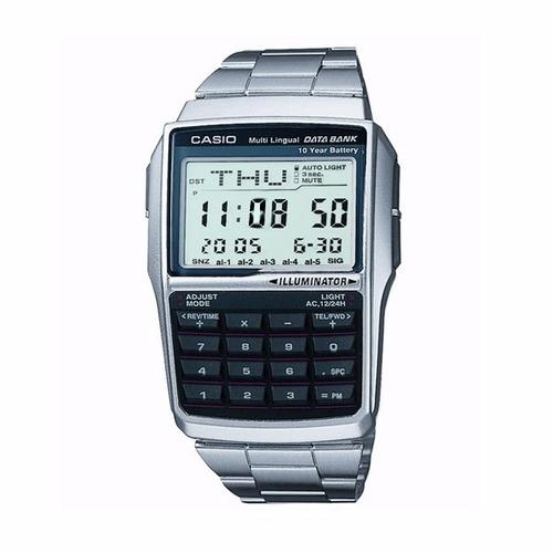 411b71ceaee São Paulo. R  434. 25 vendidos. Relógio Casio Dbc-32d Aço Data Bank 25  Memória