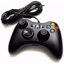 Controle Para Xbox 360 E Pc E Slim Joystick Garantia Feir