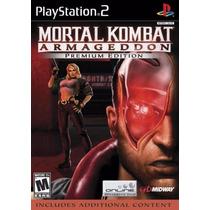 Patch Mortal Kombat Armageddon Premium Ps2 Frete Gratis
