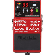 Pedal Boss Rc3 Loop Station - Sound Store