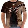 Camiseta Babylook Regata Game Mortal Kombat X Baraka Color