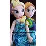 Bonecas Frozen Fever 50cm Elsa E Ana + Bolsa Pronta Entrega