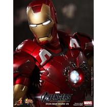 Hot Toys Homem De Ferro Iron Man Mark Vii 7 - Os Vingadores