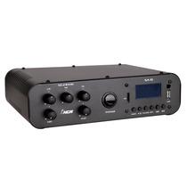 Amplificador Ambiente Sa10 C/ Usb, Fm Sedex Barato 12 Caixas