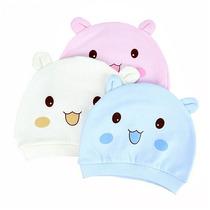 Toca Toquinha Infantil Bebê Ursinho Gatinho Inverno Frio