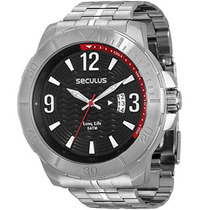 Relógio Seculus Masculino Long Life 28484g0svna1