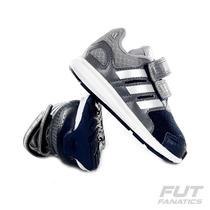 Tênis Adidas Lk Sport Cf Cinza Infantil - Futfanatics