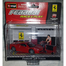 Ferrari 458 Italia Escala: 1/43 - Burago Item Novo Lacrado!