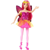 Boneca Barbie Mix & Match Fadas Rosa - Mattel