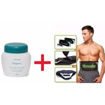 Massageador Eletrico Vibroaction + Gel Redutor De Celulite