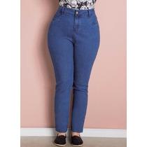 Calça Jeans Plus Size - Feminina - Roupa Jeans Skinny