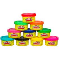 Kit Com 10 Potes De Massinhas Play-doh 22037 - Hasbro