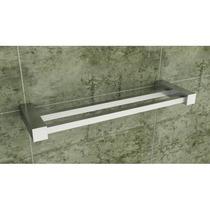 Kit Conjunto Banheiro Metais Quadrado Inox