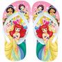 Sandália Chinelo Disney As Princesas Infantil