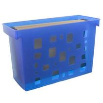 Caixa Arquivo Dellocolor Azul Sem Pasta Suspensa - Dello