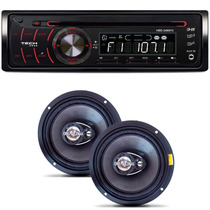 Auto Radio Original Volkswagen Gol + Par Alto Falante 6 120w
