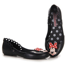 Sapatilha Infantil Grendene Disney Minnie - 23 Ao 32 - Preto
