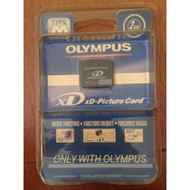Cartao De Memoria Xd Olympus 2gb Lacrado