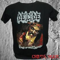 Camisetas Camisa Banda Rock Heavy Death Thrash Metal Deicide