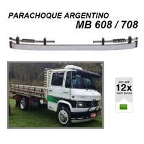 Parachoque Dianteiro Argentino Caminhão Mb 608 708 Cromado
