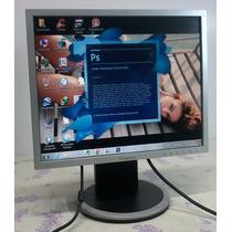 Monitor Positivo Lcd 17 Polegadas + Cabos