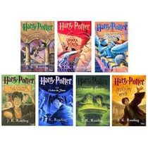 Coleção Completa Harry Potter (capa Original) - 7 Livros