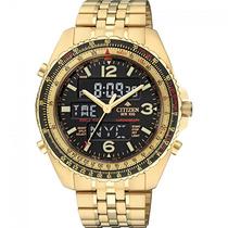 Relógio Citizen Promaster Wingman Vi Jq8003-51 Dourado