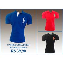 Camisa(camiseta)gola Polo Ralph Lauren Masculina Promoção!