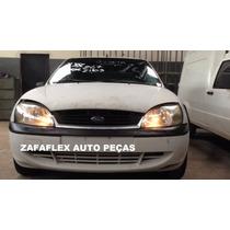 Sucata Ford Fiesta 1.0 Zetec Rocam 4pts 2001 - Somente Peças