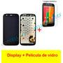 Frontal Lcd Touch Motorola Moto G G1 Xt1032 Xt1033 Pelicula