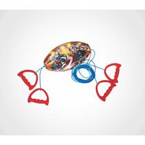 Brinquedo Vai E Vem Avengers Vingadores Original Lider