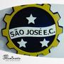 São José E.c. Aguia Do Vale Quadro Decorativo 3d Mdf