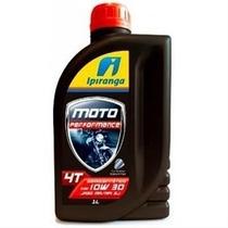 Oleo Motor Moto Ipiranga Semissintetico 4t 10w 30 Original